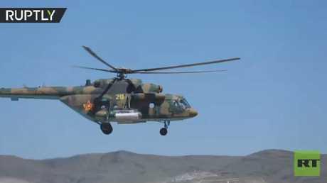 شاهد بالفيديو.. العرض العسكري بمناسبة عيد حماة الوطن في كازاخستان