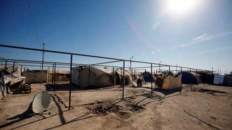 مخيم للاجئين في الفلوجة العراقية
