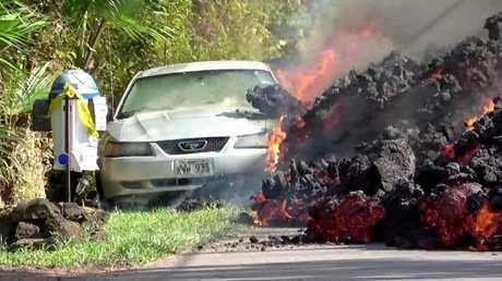 الحمم البركانية تلتهم الأخضر واليابس في هاواي