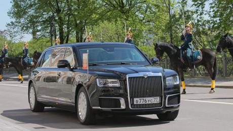 سيارة الرئيس بوتين الجديدة، التابعة للمشروع
