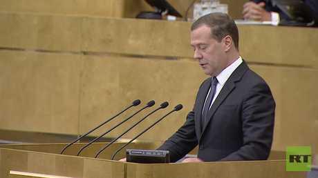 مدفيديف على رأس الحكومة الروسية الجديدة