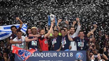 باريس سان جيرمان يتوج بلقب كأس فرنسا