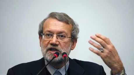رئيس البرلمان الإيراني علي لاريجاني، أرشيف