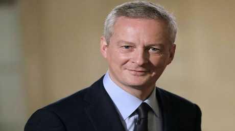 وزير الاقتصاد الفرنسي برونو لومير