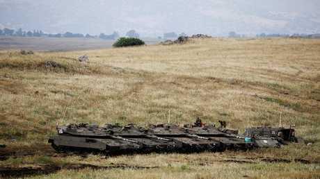 الجيش الإسرائيلي بالجولان المحتل