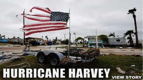 """اعصار""""هارفي"""""""
