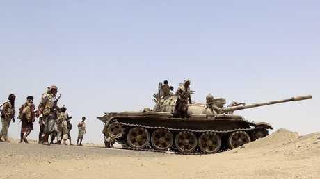 مسلحو المقاومة الشعبية باليمن