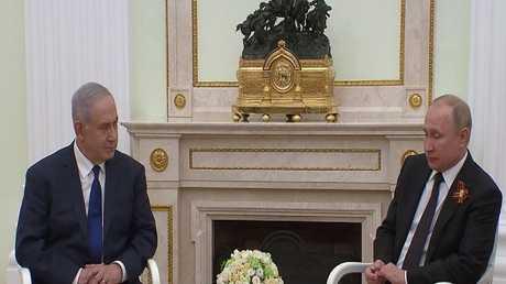 بوتين يبحث مع نتنياهو الوضع في المنطقة