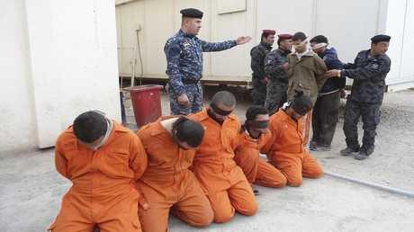 عدد من المعتقلين الأمنيين في العراق - أرشيف