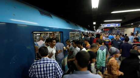 مترو الأنفاق في مصر - أرشيف