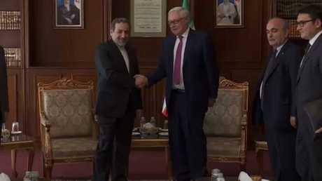 مباحثات روسية إيرانية حول الاتفاق النووي