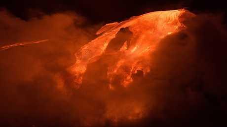 ثوران بركان هاواي قد يكون مرعبا ومميتا!
