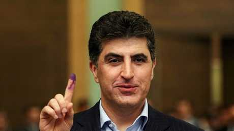 رئيس حكومة إقليم كردستان نيجرفان البارزاني
