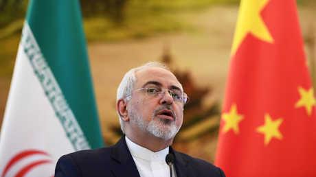 وزير الخارجية الإيراني محمد جواد ظريف في الصين (أرشيف)