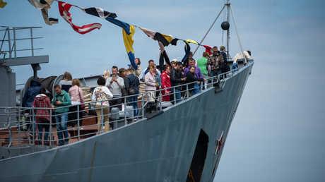 أسطول البحر الأسود يحتفل بمرور 235 عاما من تأسيسه