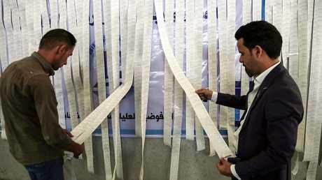 عمليات تدقيق الأصوات في انتخابات العراق