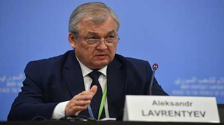 مبعوث الرئيس الروسي في شؤون التسوية السورية ألكسندر لافرينتيف