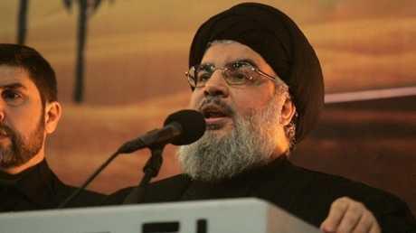 """الأمين العام لـ""""حزب الله"""" اللبناني، حسن نصرالله"""