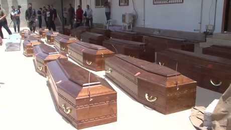 ليبيا تعيد  إلى مصر رفاة أقباط ذبحهم