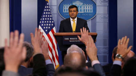 المتحدث باسم البيت الأبيض راج شاه