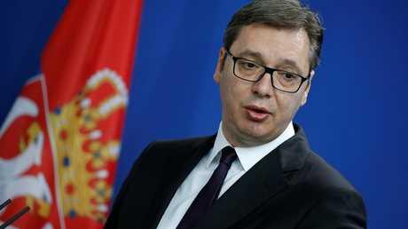 الرئيس الصربي، ألكسندر فوتشيتش