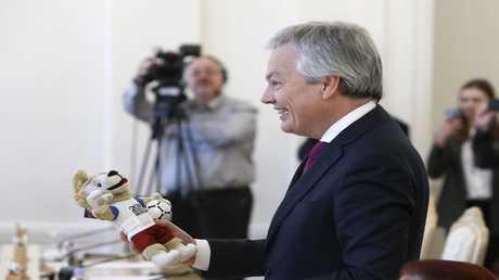 وزير الخارجية البلجيكي، ديديه ريندرز