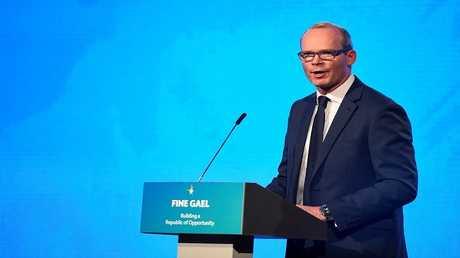 وزير الخارجية الإيرلندي، سيمون كوفيني