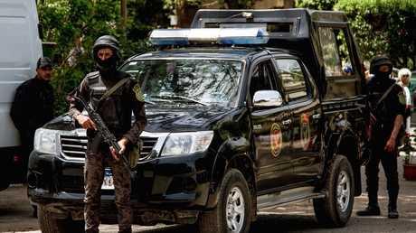 قوات الأمن المركزي المصري - أرشيف