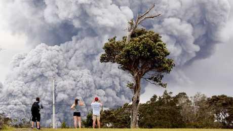 """""""تحذير أحمر """" للمجال الجوي في هاواي"""