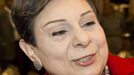 عضو اللجنة التنفيذية بمنظمة التحرير الفلسطينية حنان عشراوي