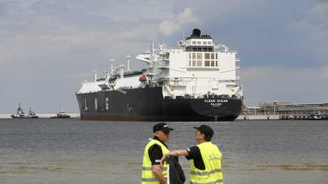 سفينة أمريكية تحمل غازا مسالا، أرشيف