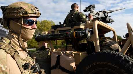 عناصر من القوات الخاصة الفرنسية