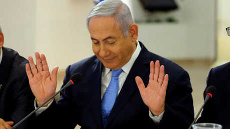 رئيس الوزراء الإسرائيلي، بنيامين نتنياهو
