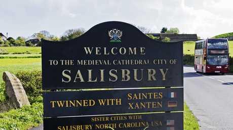 مدينة سالزبوري، بريطانيا