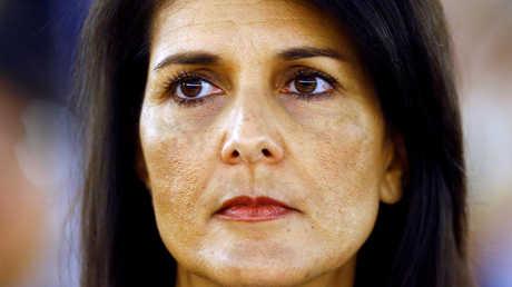المندوبة الدائمة الأمريكية لدى الأمم المتحدة نيكي هايلي