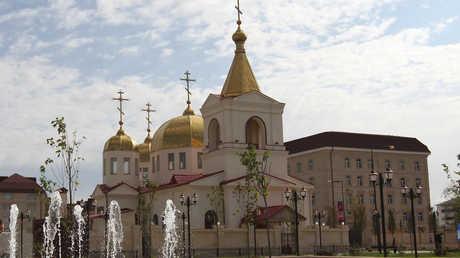 كنيسة رئيس الملائك ميخائيل في غروزني الشيشانية
