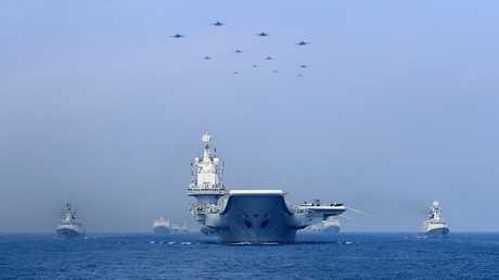 أسطول حربي صيني