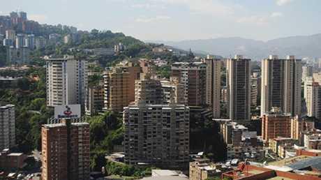 منظر من العاصمة الفنزويلية كاراكاس