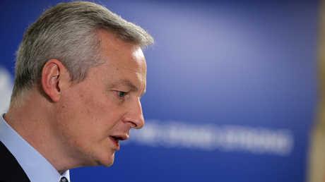 وزير المالية الفرنسي برونو لومار