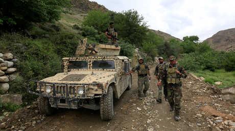 دورية للقوات الخاصة الأفغانية - أرشيف