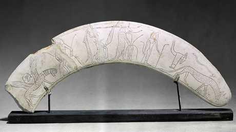 عصا سحرية فرعونية من الأسرة الوسطى 1800 ق.م.