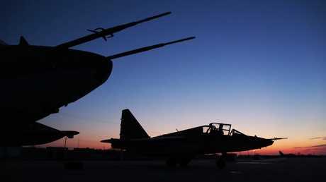 طائرتان حربيتان روسيتان في قاعدة حميميم (أرشيف)