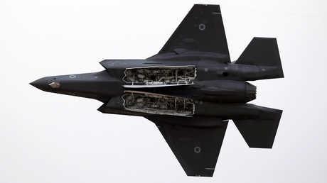 """مقاتلة """"F-35"""" تابعة للقوات الجوية الإسرائيلية، أرشيف"""