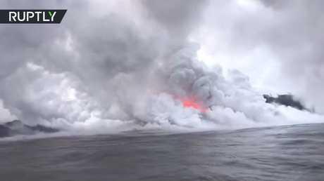 ضباب بركاني يهدد سكان هاواي