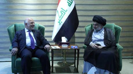 العبادي يلتقي الصدر في بغداد يوم 20 مايو