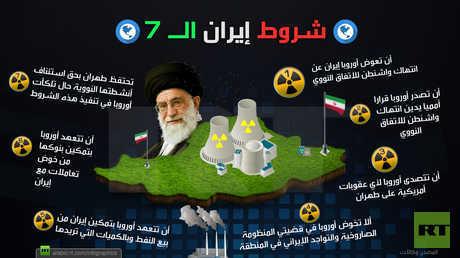شروط إيران الـ 7