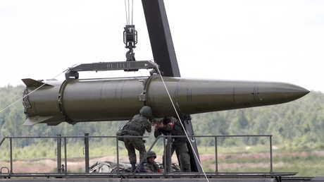 صاروخ إسكندر روسي