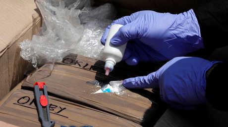 الجمارك السورية تضبط شحنة مخدرات ضخمة
