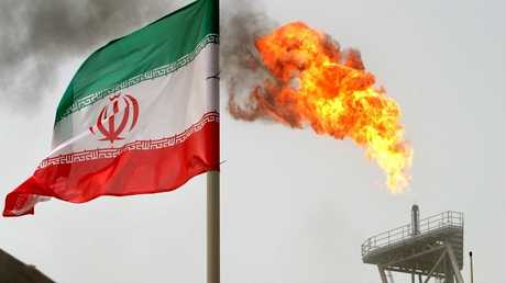 حقل غاز طبيعي في شمال إيران