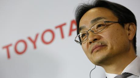 المدير التنفيذي لشركة تويوتا، هيدينوري أوزاكي.